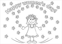 Choose from our diverse categories like cartoon coloring pages, disney coloring pages to animal coloring sheets, everything your kids want to colour you. 7 Women S Day Coloring Pages Free Premium Templates