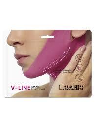 <b>Маска</b>-<b>бандаж для коррекции овала</b> лица L'Sanic 10800456 в ...