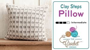 Pillow Patterns Custom Crochet Clay Classy Steps Pillow 48 48 Sizes Tutorial The