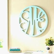 adorably wooden monogram letters for wall uk