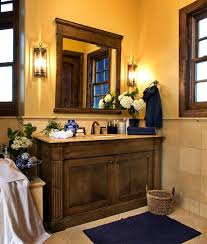 Some Great Rustic Bathroom Vanities Ideas to Bring the Freshness of