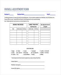 Payroll Sheet Samples Free 40 Sample Payroll Forms Pdf