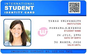 Card Id info Format Template Ksck School Microsoft – Student Word