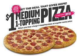 howietrack deals love hope and pizza 1 um pizza when you a large 1