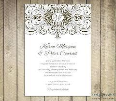 Wedding Invitation Templates Downloads Free Wedding Invitation Card Beauceplus