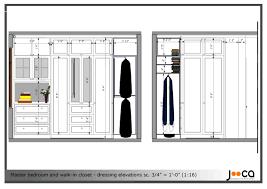 Closet Dimensions For Bedroom