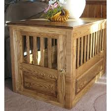 dog crates furniture style. Furniture Style Dog Crate Handcrafted Ash Wood Front View Crates Uk