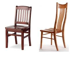 solid unfinished wood dining chairs
