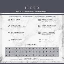 Minimalist Resume Archivos Hired Design Studio