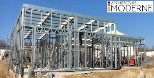 nos structures métalliques sont d excellentes solutions pour tout projet de construction construire sa maison avec une ossature métallique surélever un