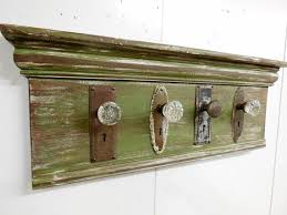 Antique Door Knob Coat Rack