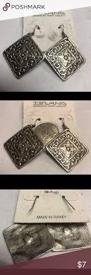 Island Designs By Harry Haslett Island Designs By Harry Haslett Earrings Antiqued Finish