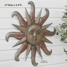 decor plaque patio garden metal
