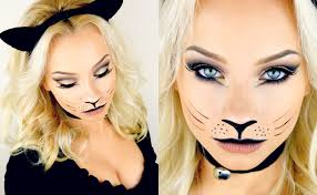 last minute kitty cat makeup tutorial 2016