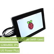 <b>10.1</b>inch HDMI LCD (B) (with case), 1280×800, <b>IPS</b>