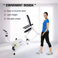 Sports & Outdoors Doufit <b>Recumbent Exercise Bike Stationary</b> for ...
