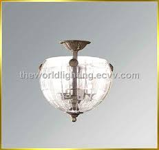 300w330h sn metal stand glass decoration modern crystal pendant lamp made in china