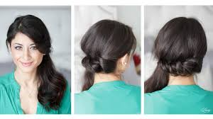 You Tube Hair Style twisted side ponytail youtube 3060 by wearticles.com