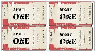 Microsoft Word Ticket Templates Microsoft Word Ticket Template 6 Ticket Templates For Word To Design
