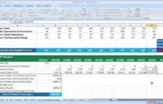 Private Business Valuation Spreadsheet And Business Valuation Report ...