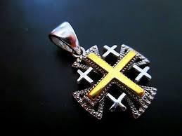 sterling silver 925 crusaders