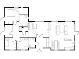 A 3bedroom Simple Floor Plan  ShoisecomSimple Floor Plan