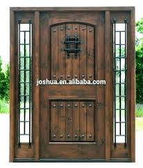 exterior stain wrought iron doors stained glass front entry with paint colors