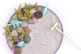 how to make a mini zen garden
