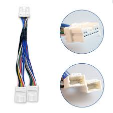 online get cheap car audio wiring harness kits aliexpress com y splitter car radio cable wiring harness for exte