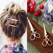 <b>1 pcs</b> Retro <b>Creative</b> Scissors Hair Accessories Hair Clip | Shopee ...