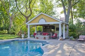 open pool house. Open Pool House O