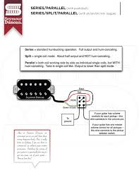 wiring diagrams seymour duncan part 2 push pull series parallel and on on on toggle series split parallel diagram
