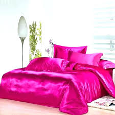 twin xl silk sheets twin satin sheets pink twin quilt hot pink silk bedding set satin