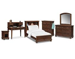 Bookcase Bedroom Furniture The Hanover Youth Bookcase Bedroom Collection Cherry American
