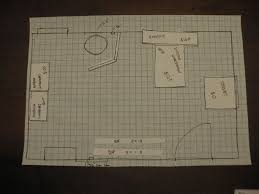 Create A To Scale Sketch With Graph Paper To Make Space