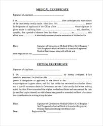 Medical Certificate Template Amazing 48 Medical Certificate Templates In PDF Free Premium Templates
