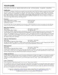babysitter experience resume sample cipanewsletter cover letter professional nanny resume sample sample of