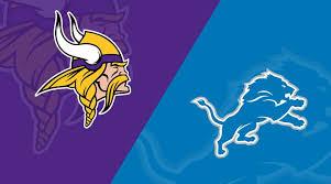 Detroit Lions Depth Chart 2018 Minnesota Vikings At Detroit Lions Matchup Preview 10 20 19