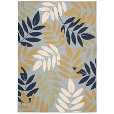 this review is from caribbean blue 5 ft x 7 ft indoor outdoor area rug