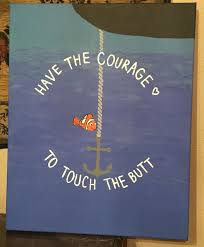 have the courage to touch the canvas nemo
