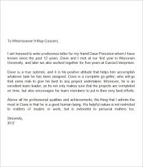 good recommendation letter for college college reference letters examples under fontanacountryinn com