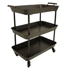 Bookcase Table Industrial Trolley The Furniture Store