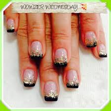French Manicure Nail Art Designs - FACE MAKEUP IDEAS