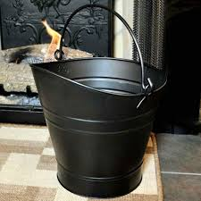 nle5mm c 65 00 14 coal hod pellet bucket black ash buckets for fireplaces fireplace 21