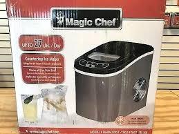 chefs portable ice maker magic chef lb portable ice maker in black stainless magic chef portable