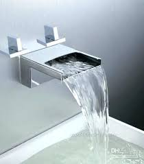 waterfall tub filler wall mount awesome waterfall tub spout waterfall tub