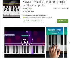 In so gut wie jeder musikrichtung. Klavier Spielen Lernen Mit Smartphone Tablet Die 10 Besten Klavier Apps
