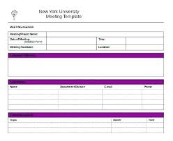 Free Meeting Notes Template Minutes Download Word Format Microsoft