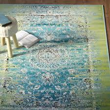 wonderful home interior romantic blue green area rug on mistana neuilly reviews wayfair regarding idea