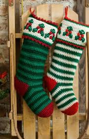 Crochet Stocking Pattern Impressive Crochet Christmas Stockings 48 Free Patterns To Hang This Year